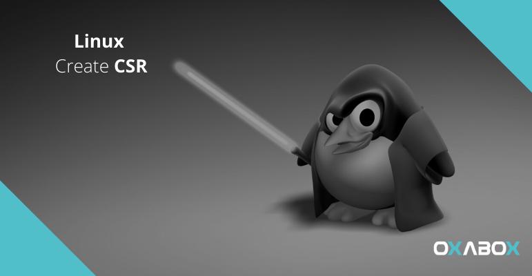 Comment générer un CSR sous Linux (OpenSSL, NGINX, Apache)